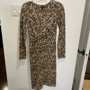 Size 10 leopard drsss by River Island